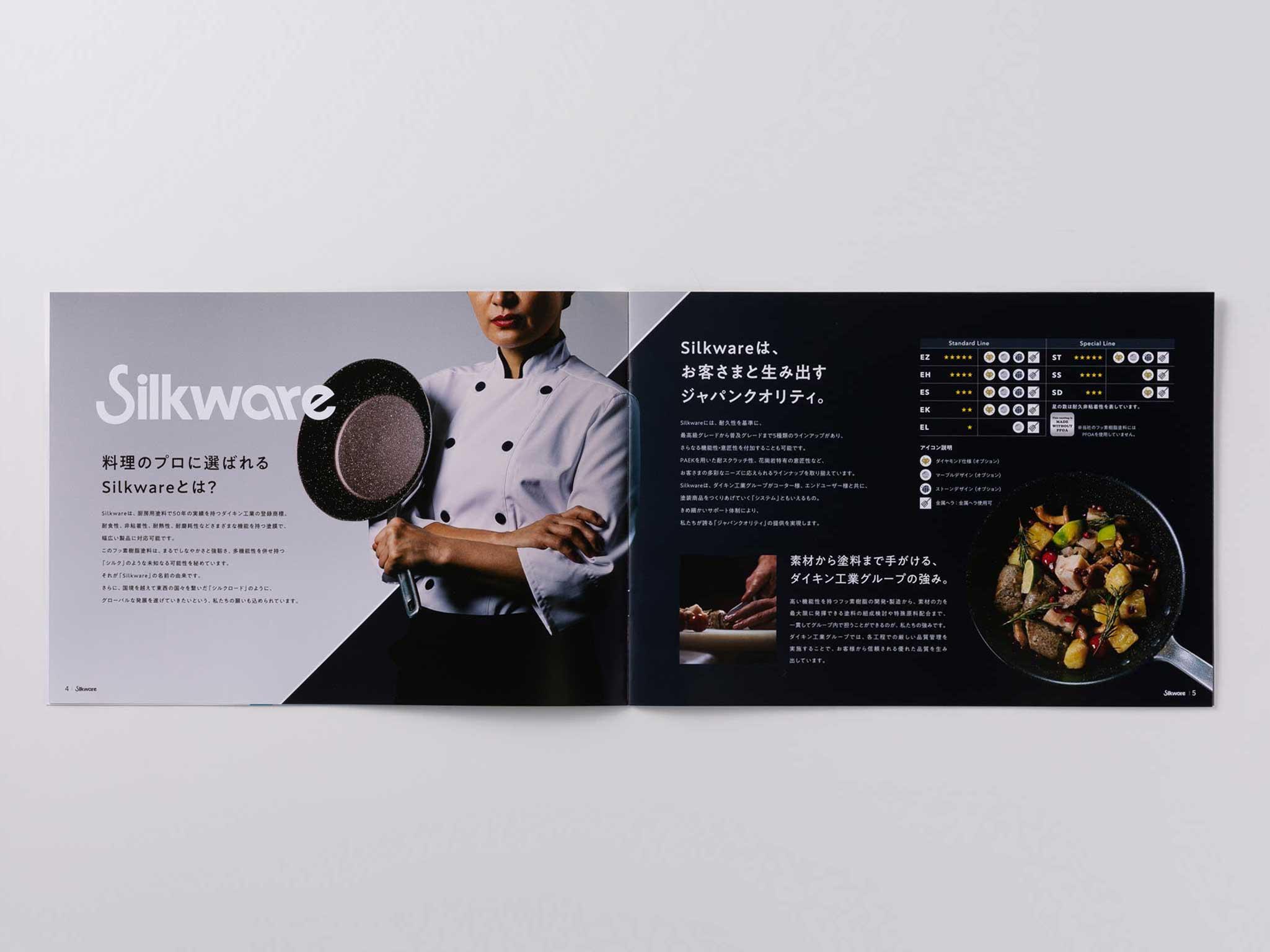 ダイキン工業 名古屋 ブランディング デザイン DAIKIN Silkware